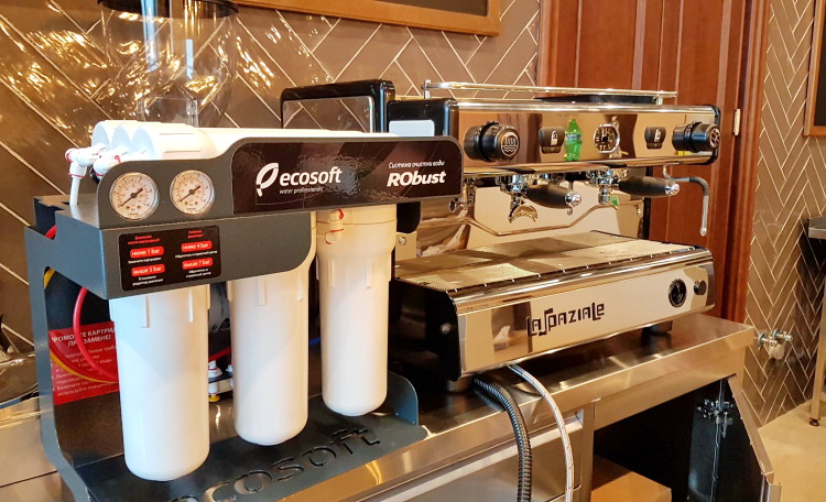 Фильтр обратного осмоса для кафе и ресторанов Ecosoft Robust